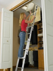 Keller AA1510K Compact Attic Ladder