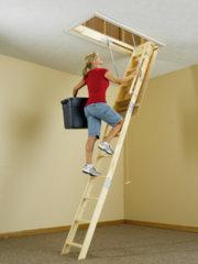 Keller Wood Attic Ladder Series